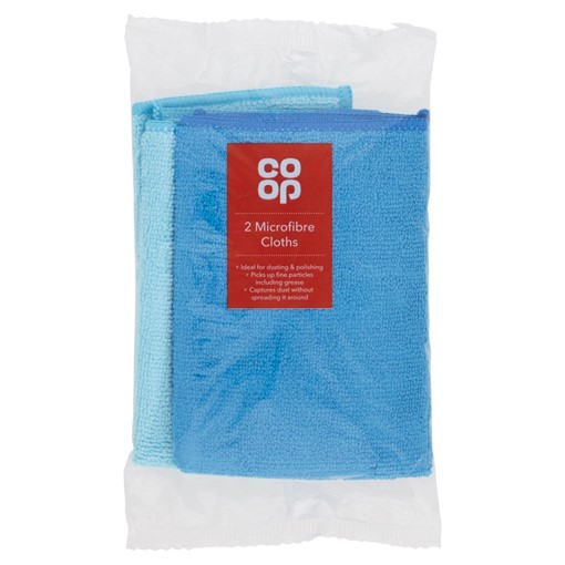 Picture of Co-op 2 Microfibre Cloths
