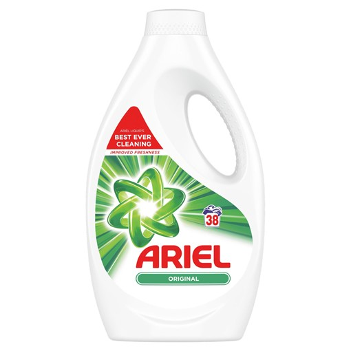 Picture of Ariel Washing Liquid Original 1.33L, 38 Washes