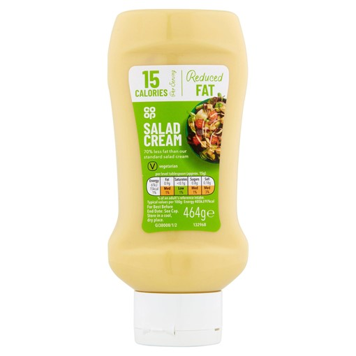 Picture of Co-op Reduced Fat Salad Cream 464g
