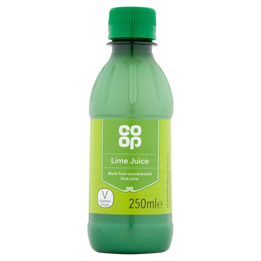 Picture of Co-op Lime Juice 250ml