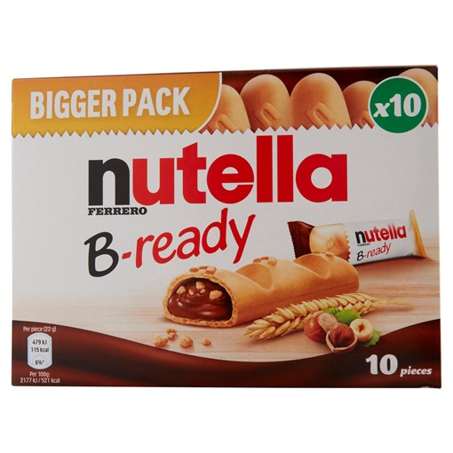 Picture of Nutella B-Ready Multipack 10 x 22g (220g)