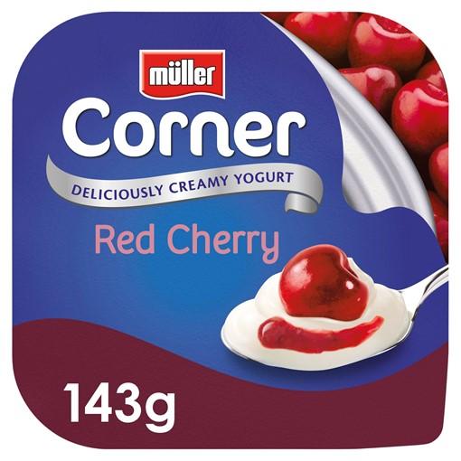 Picture of Muller Corner Red Cherry Yogurt 143g