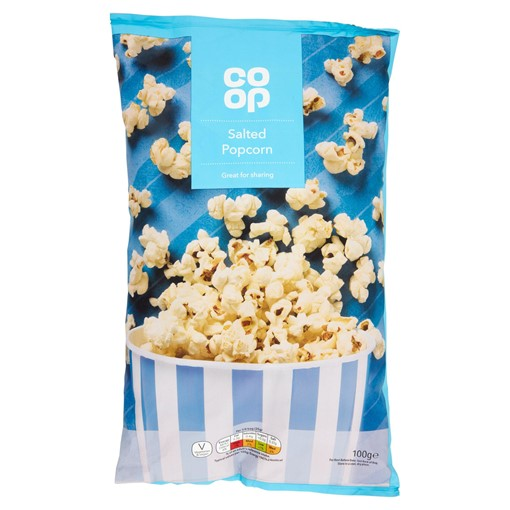 Picture of Co Op Salted Popcorn 100g