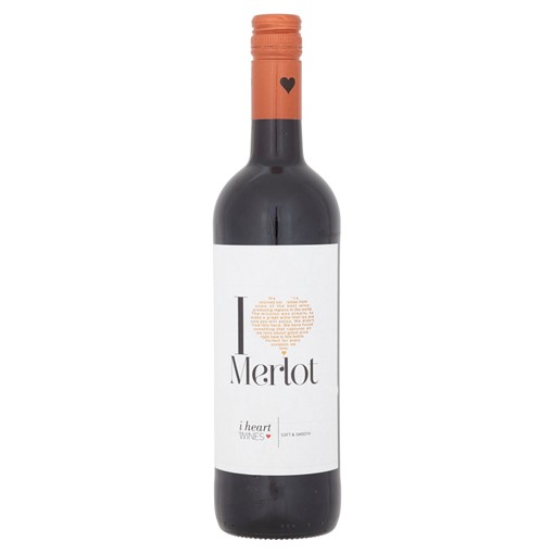 Picture of I Heart Merlot 75cl