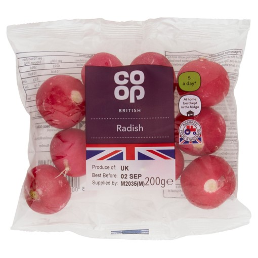 Picture of Co Op Radish 200g
