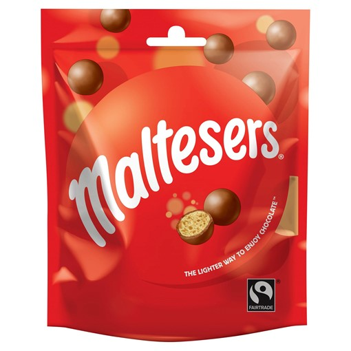 Picture of Maltesers Chocolate Pouch Bag 102g