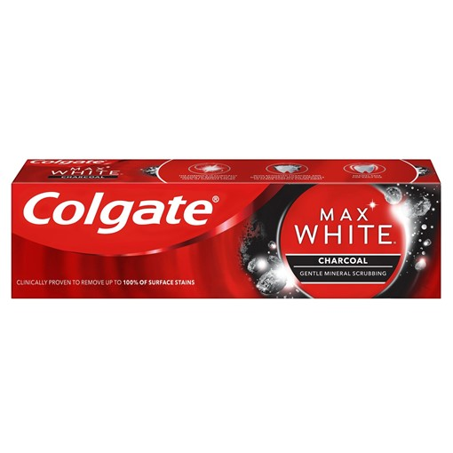 Picture of Colgate Max White Charcoal Whitening Toothpaste 75ml