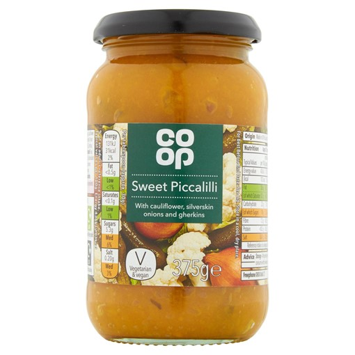 Picture of Co-op Sweet Piccalilli 375g