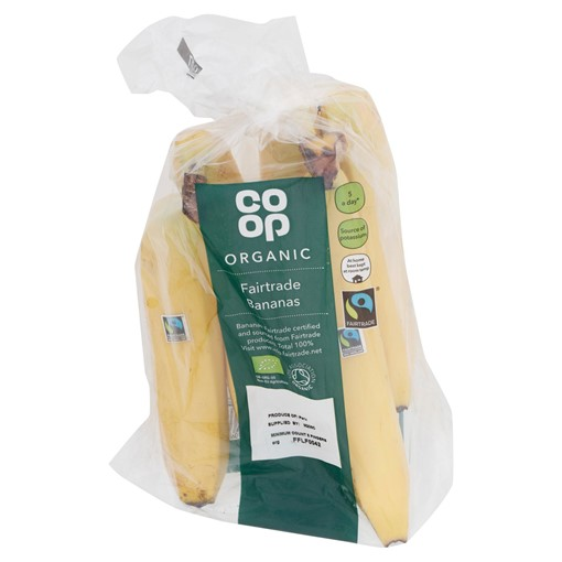 Picture of Co Op Organic Fairtrade Bananas