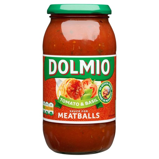 Picture of Dolmio Meatball Tomato and Basil Pasta Sauce 500g