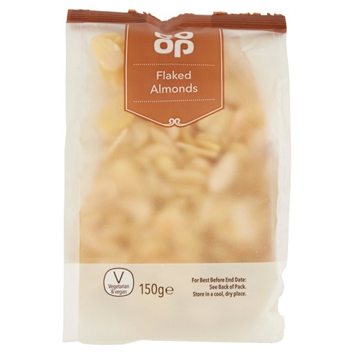 Picture of Co Op Flake Almonds 150g