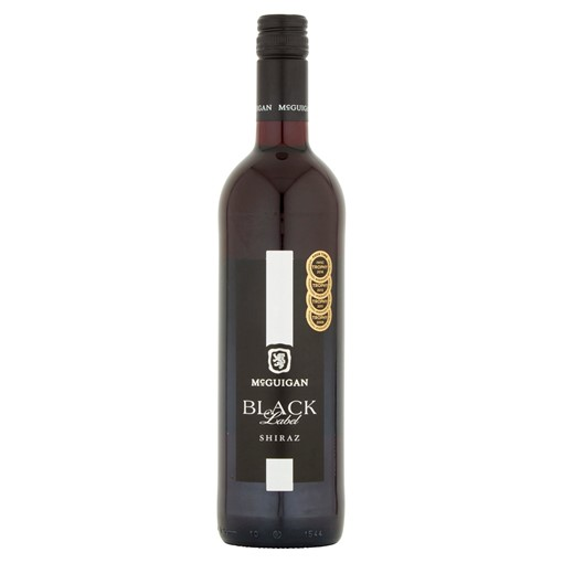 Picture of McGuigan Black Label Shiraz 75cl
