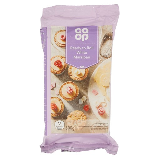 Picture of Co Op Ready to Roll White Marzipan 500g