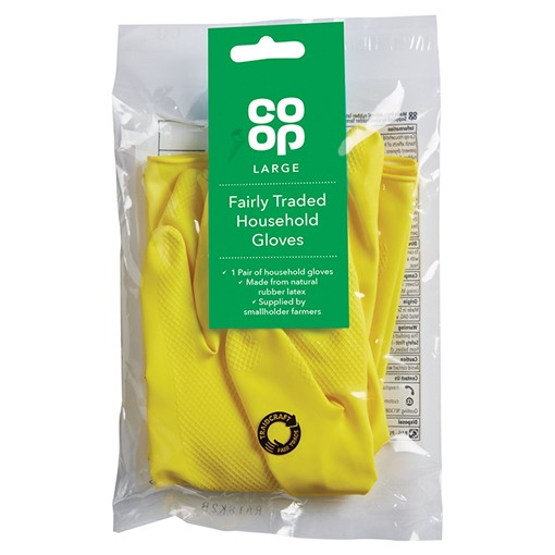 Picture of Co Op Large Fairly Traded Household Gloves