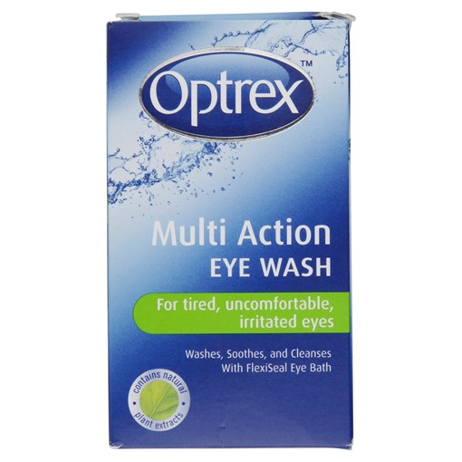 Picture of Optrex Multi Action Eye Wash 100ml