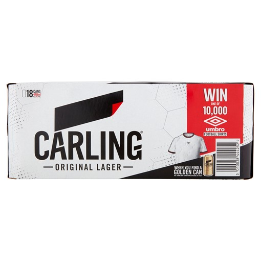 Picture of Carling Original Lager 18 x 440ml
