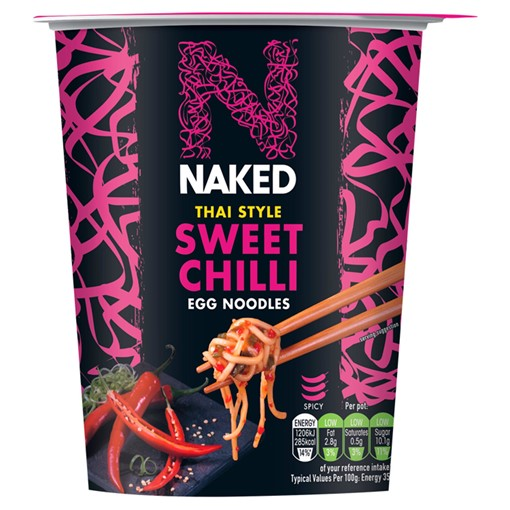 Picture of Naked Noodle Thai Sweet Chilli Egg Noodles 78g