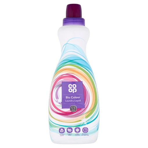 Picture of Co-op Bio Colour Laundry Liquid 32 Standard Washes 980ml