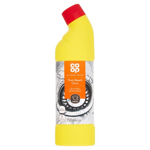 Picture of Co-op Thick Bleach Citrus 750ml
