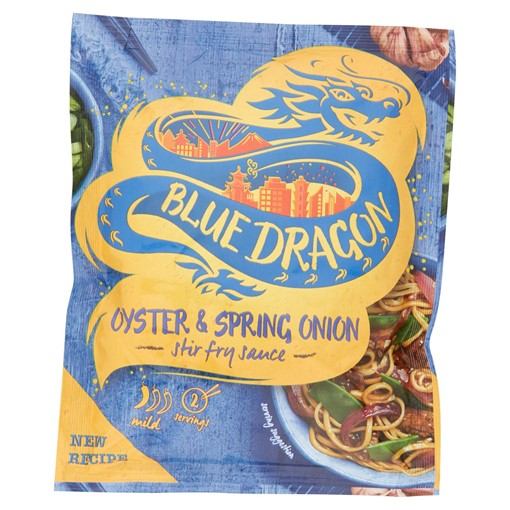 Picture of Blue Dragon Oyster & Spring Onion Stir Fry Sauce 120g