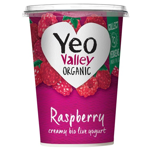 Picture of Yeo Valley Organic Raspberry 450g