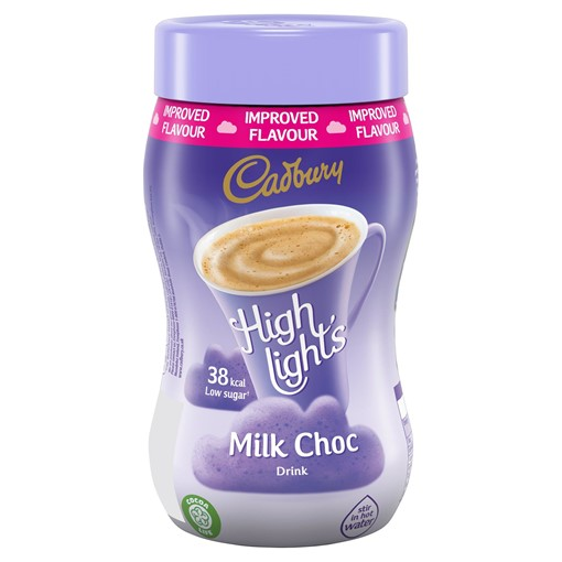 Picture of Cadbury Highlights Milk Hot Chocolate 220g