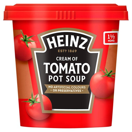 Picture of Heinz Cream of Tomato Pot Soup 355g