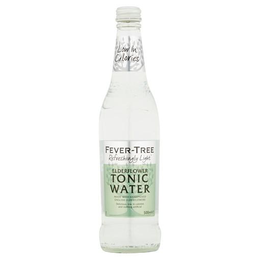 Picture of Fever-Tree Refreshingly Light Elderflower Tonic Water 500ml