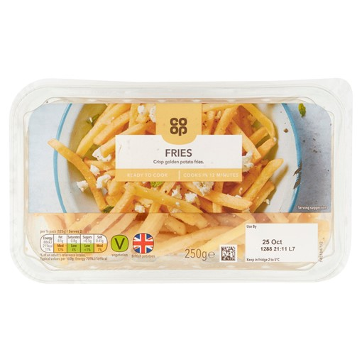 Picture of Co-op Fries 250g