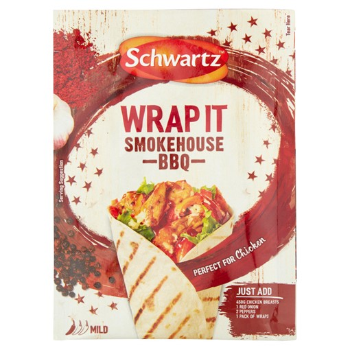Picture of Schwartz Smokehouse BBQ Wrap It Recipe Mix 30g