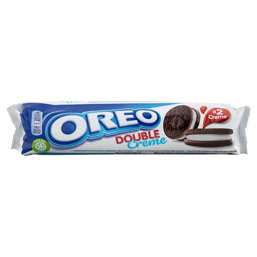 Picture of Oreo Double Creme Chocolate Sandwich Biscuit 157g