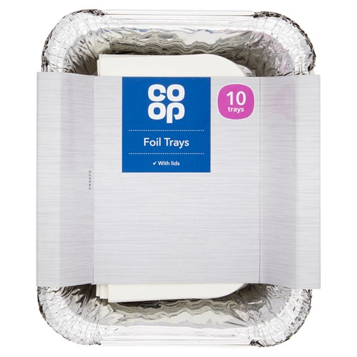 Picture of Co-op 10 Foil Trays