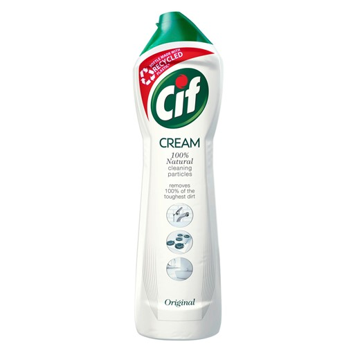 Picture of Cif Original requires less rinsing Cream Cleaner suitable for all rooms 500ml