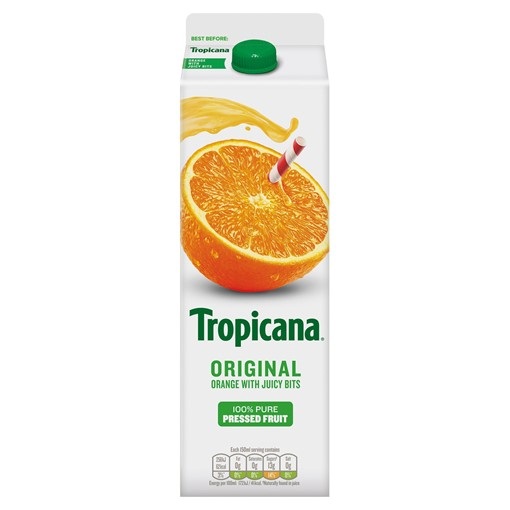 Picture of Tropicana Original Orange Juice with Bits 950ml
