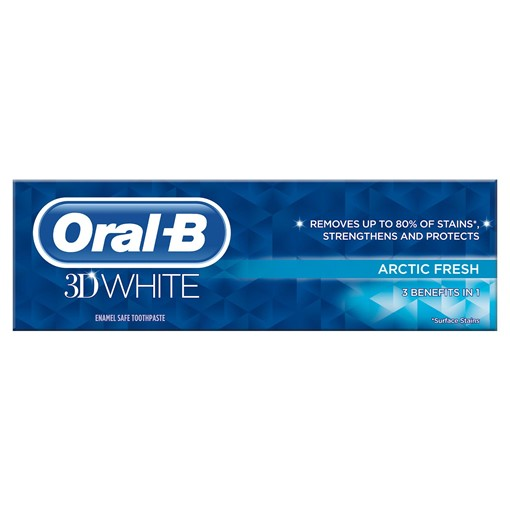 Picture of Oral-B 3D White Arctic Fresh Toothpaste 75ml