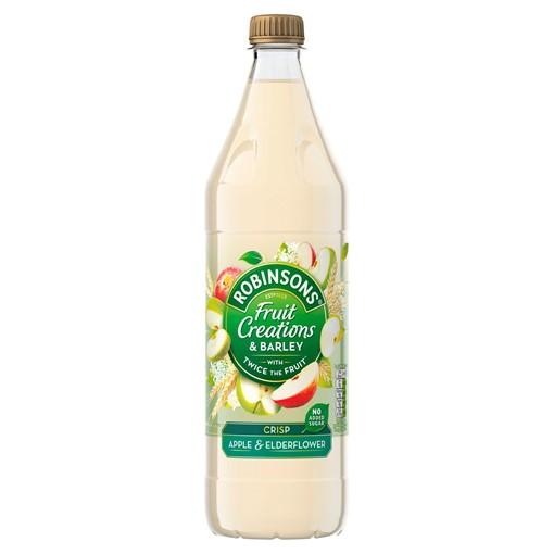 Picture of Robinsons Fruit Creations & Barley Crisp Apple & Elderflower Squash 1L