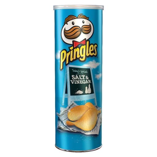 Picture of Pringles Salt & Vinegar Crisps, 200g
