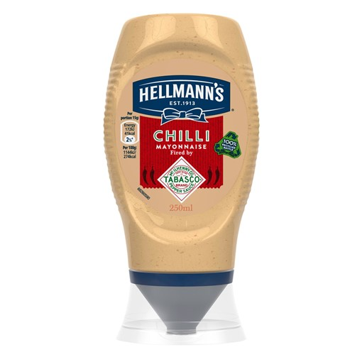 Picture of Hellmann's Tabasco Chilli Mayonnaise 250 ml