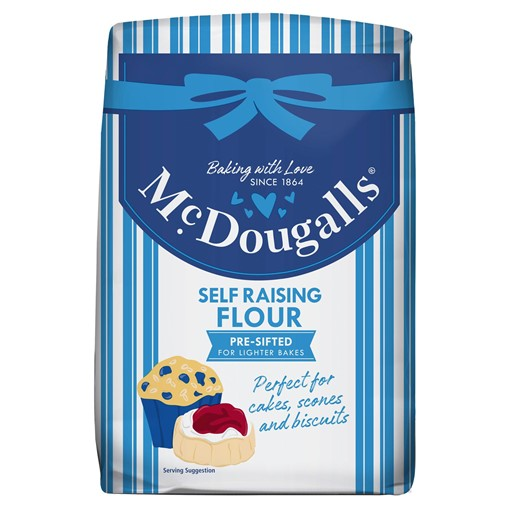 Picture of McDougalls Self Raising Flour 1.25kg