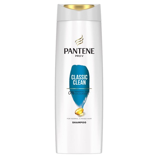 Picture of Pantene Pro-V Classic Clean Shampoo, For Normal To Mixed Hair, 360ml