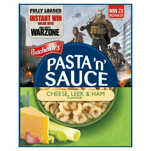 Picture of Batchelors Pasta 'n' Sauce Cheese, Leek & Ham Flavour 99g