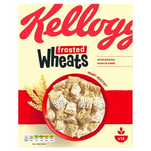 Picture of Kellogg's Wheats Frosted Cereal 600g