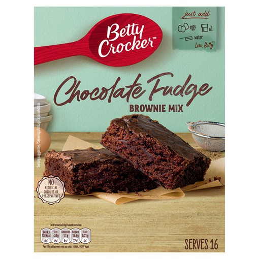 Picture of Betty Crocker Chocolate Fudge Brownie Mix 415g