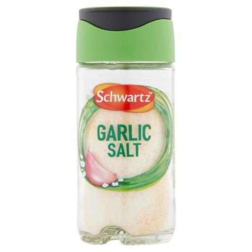 Picture of Schwartz Garlic Salt Jar 73G