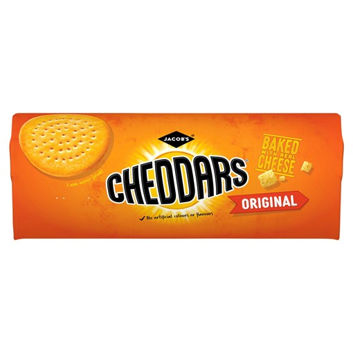 Picture of Jacobs Baked Cheddars Cheese Biscuits 150g