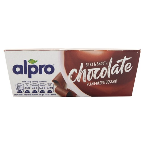 Picture of Alpro Smooth Chocolate Dessert U.H.T. 4 x 125g (500g)