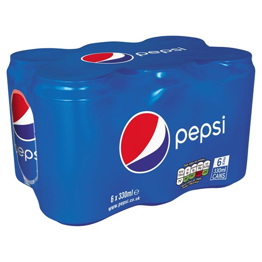Picture of Pepsi Cola Can 6x330ml