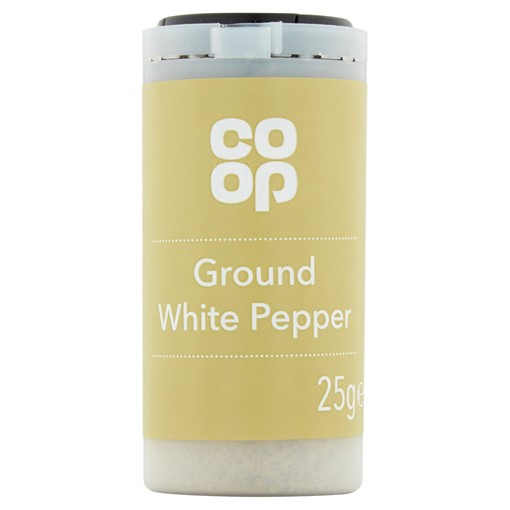 Picture of Co-op Ground White Pepper 25g