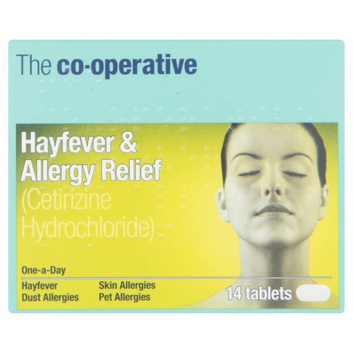 Picture of The Co-operative Hayfever & Allergy Relief 14 Tablets