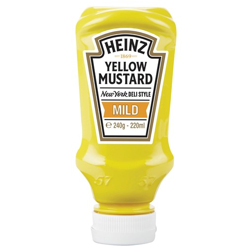 Picture of Heinz Mild Yellow Mustard 240g